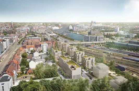 Neubau eines Quartiers in Kiel