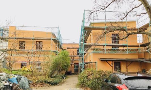 Fassadensanierung eines Einfamilienhauses in Berlin