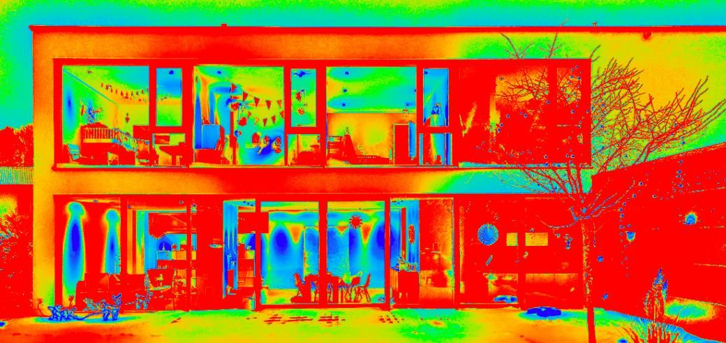 Gebäudethermografie für die Gebäudehülle